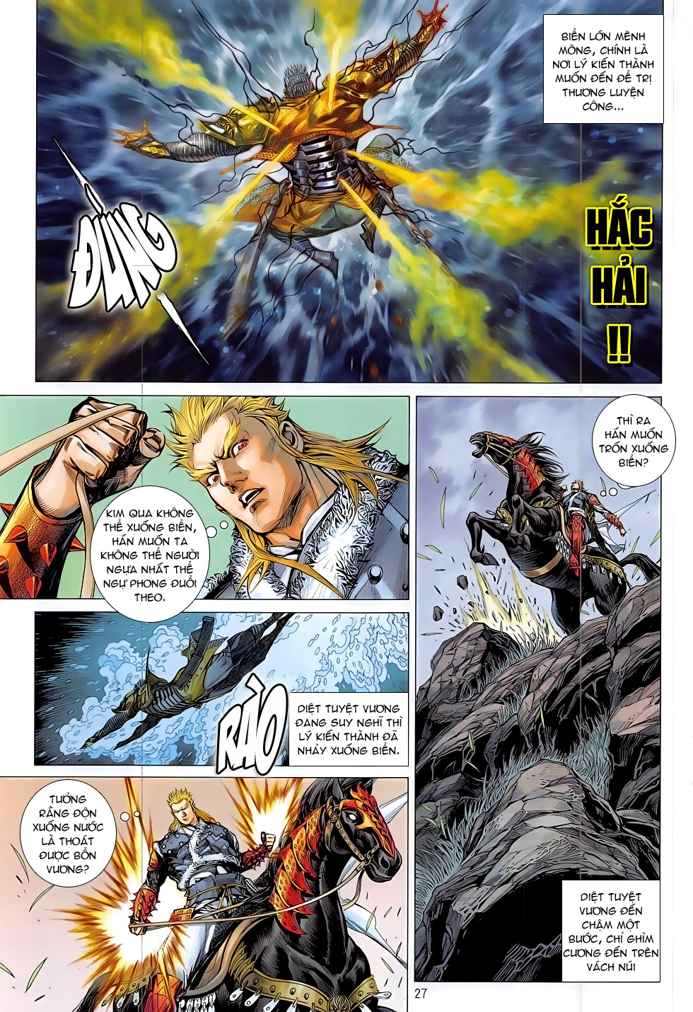 Thiết Tướng Tung Hoành Chap 182