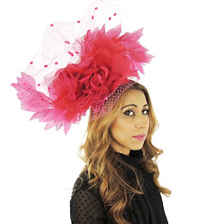 Gorgeous Kamadhoo Large Ascot Derby Fascinator Hat