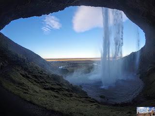 Islande Cascade Seljalandsfoss