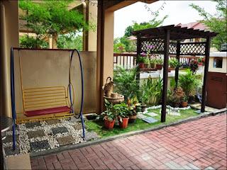 taman minimalis depan rumah