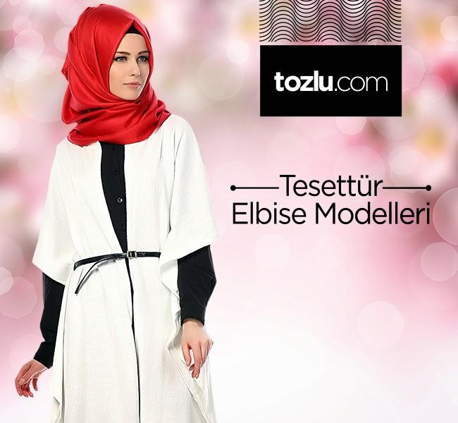 ca335b949e2ce Tozlu Tesettür Elbise Modelleri | Tozlu.com