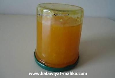 طريقة أخرى لتحضير مربى البرتقال