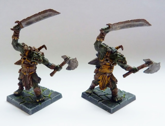 Orc Morax - Warlord of Galahir expansion for Mantic's Dungeon Saga.