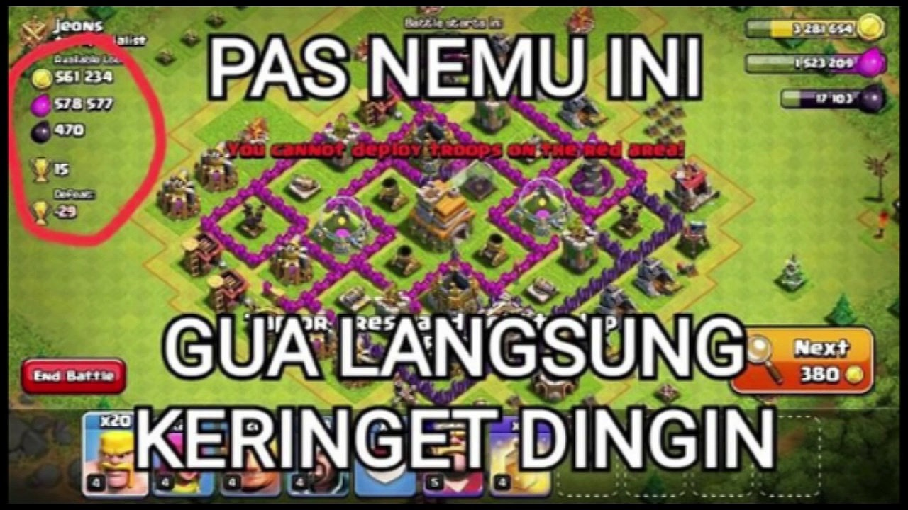 Meme Clash Of Clans Part II Clash Of Clans Indonesia