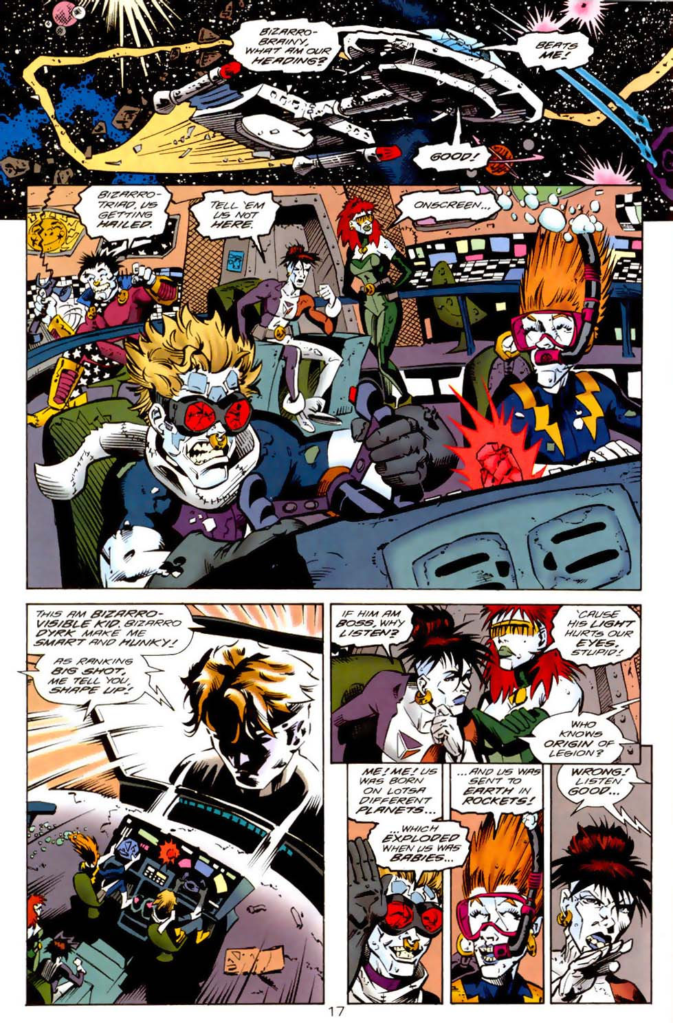 Legion of Super-Heroes (1989) 114 Page 17