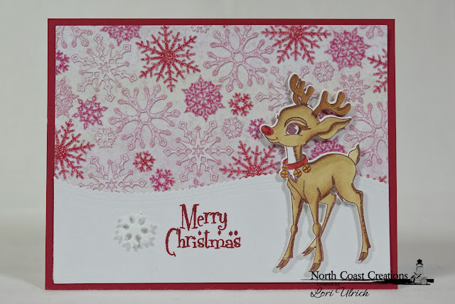 Merry Christmas from Rudolph by Papercarfts by SaintRule