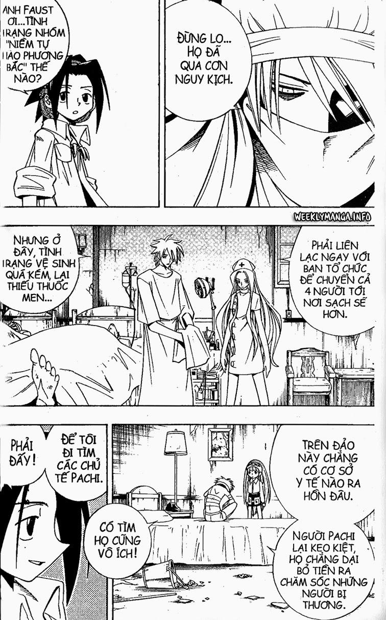 Shaman King [Vua pháp thuật] chap 187 trang 13