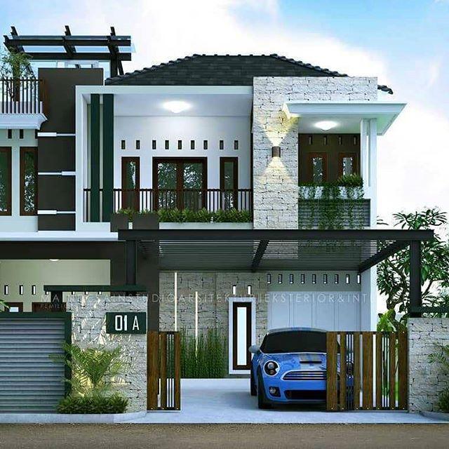 Rumah Sederhana Tapi Mewah 2 Lantai Rmh