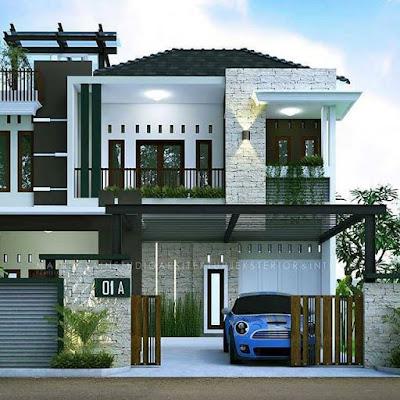 Desain Rumah Sederhana Dengan Biaya Murah Ukuran 5 X 10 ...