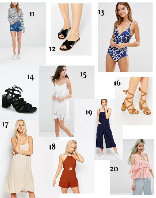 Budget Summer Sales Tips and Picks - www.theblushfulhippocrene.blogspot.com