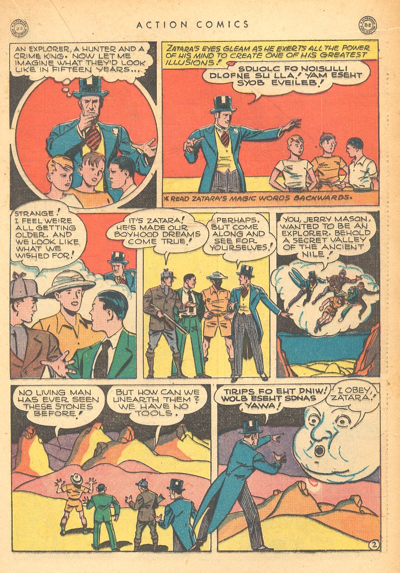 Read online Action Comics (1938) comic -  Issue #99 - 31