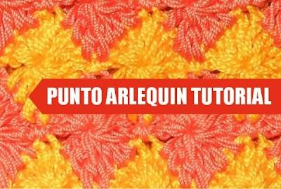 Punto Harlequin Crochet Tutorial