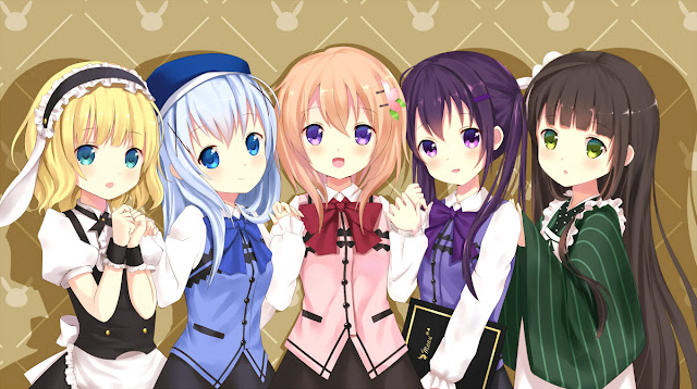 Download Gochuumon wa Usagi Desu ka? BD Subtitle Indoensia