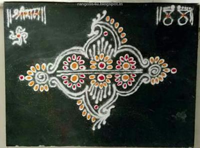 Rangolis for Marathi Festivals