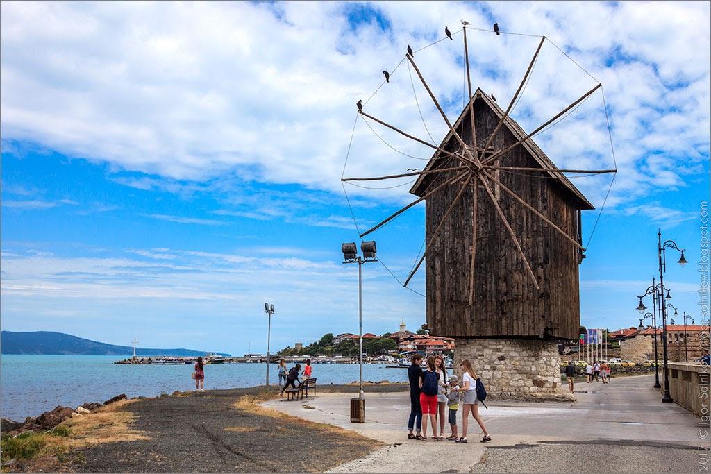 Черноморское побережье Болгарии отдых отели море где отдохнуть в Болгарии что посмотреть Нессебр Нессебыр