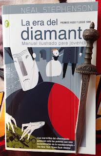 Portada del libro La era del diamante, de Neal Stephenson