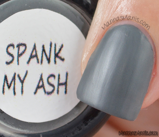 Nail Me Spank My Ash swatches