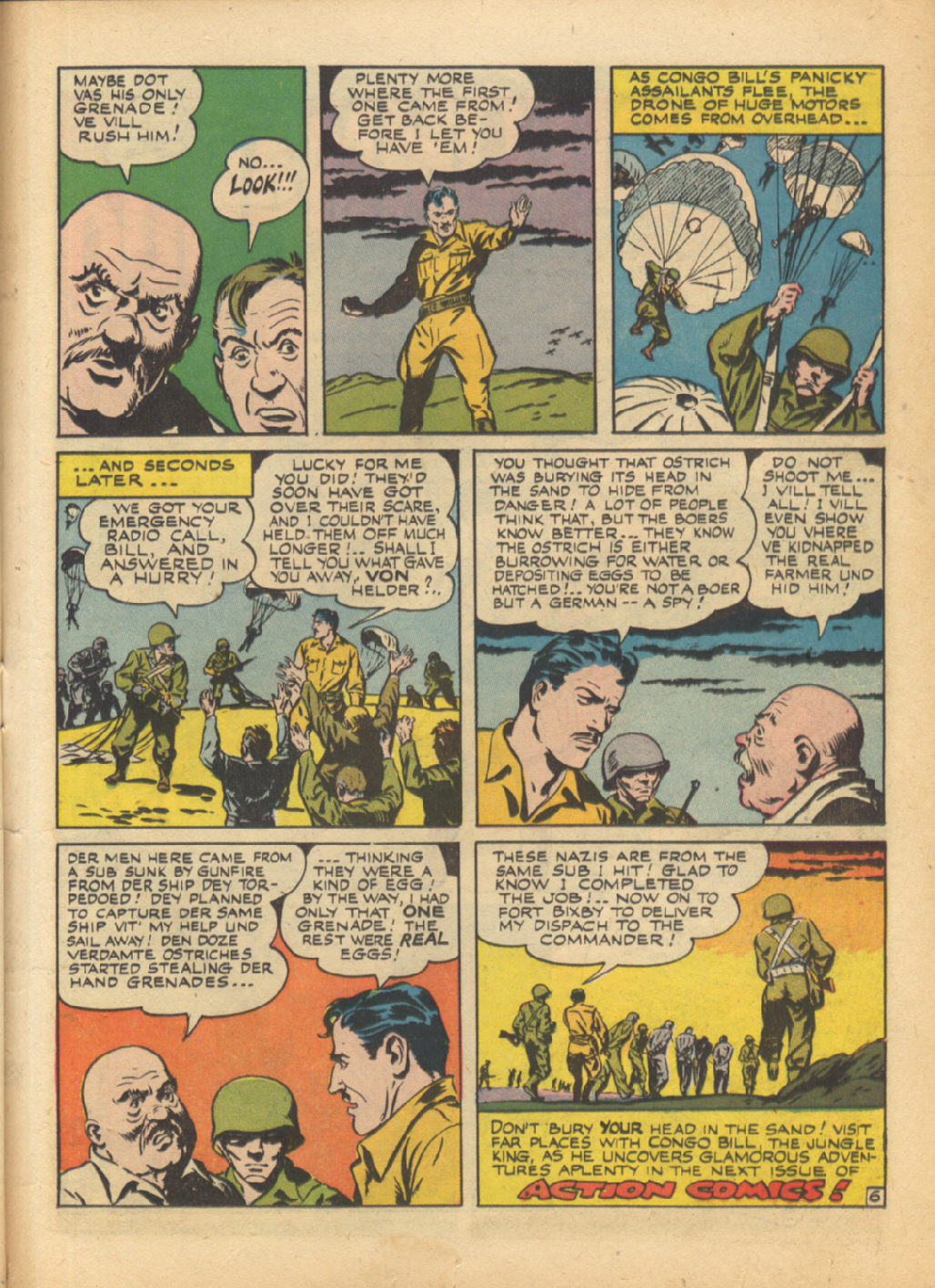 Read online Action Comics (1938) comic -  Issue #64 - 40
