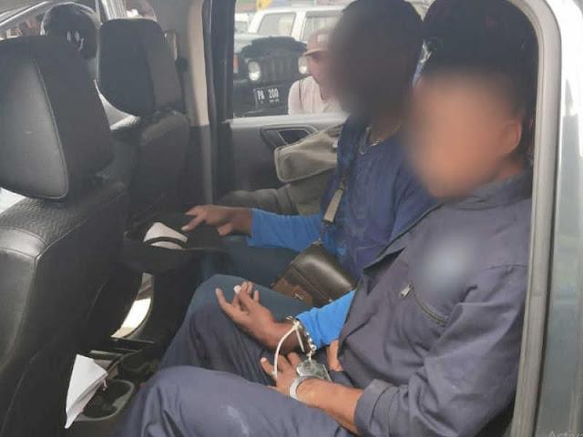 Bawa Motor Curian, Polisi Tangkap 2 Remaja SMK di Jayapura