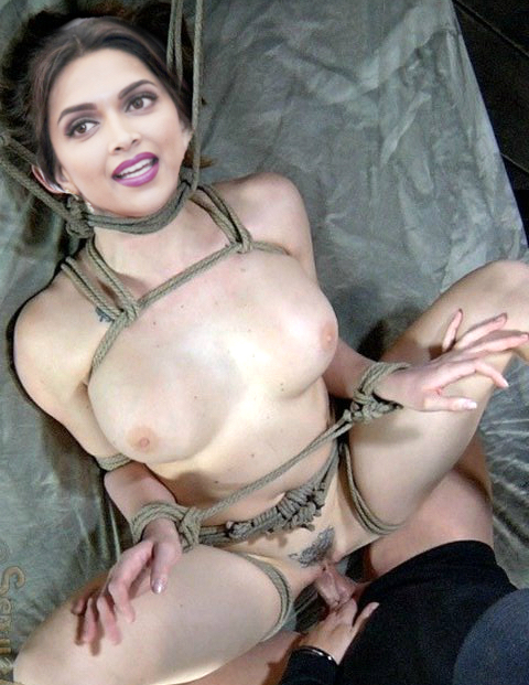 Deepika Padukone naked boobs tied naked bondage sex hot fuck pic