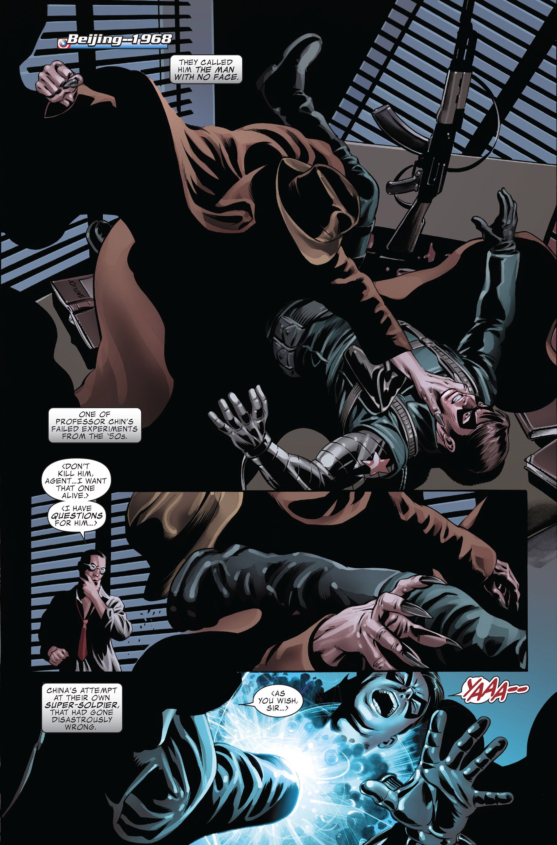 Read online Captain America (2005) comic -  Issue #45 - 3