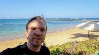 Me at the beach in Dakar