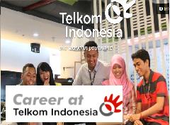 Lowongan Kerja BUMN GREAT PEOPLE TRAINEE PROGRAM TELKOM BATCH V PT. Telekomunikasi Indonesia, Tbk Desember - Januari 2017