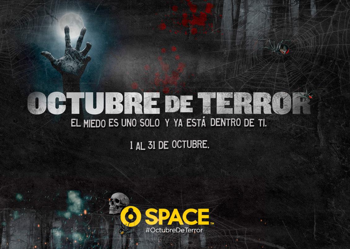 Vive un Octubre de Terror en Space - TVCinews