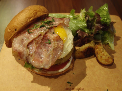 Bacon, Egg & Cheese Burger