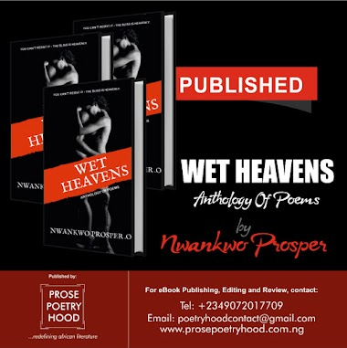 Published: Wet Heavens by Nwankwo Prosper
