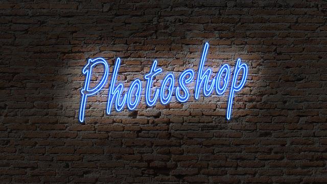 Neon Light Text Effect In Photoshop CC - Photoshop Tutorial