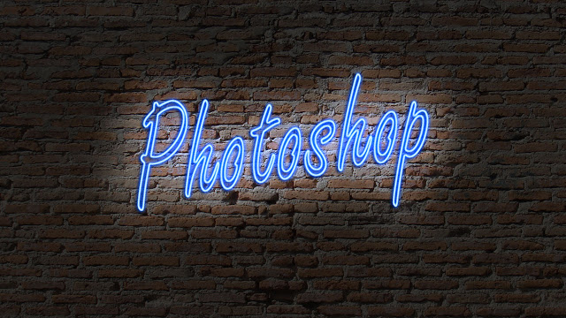 Movie Poster 2019: Neon Light Text Effect In Photoshop CC