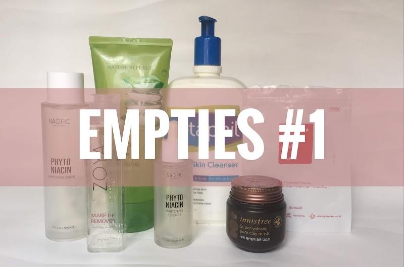 Skin Care Empties: Produk Yang Saya Pakai Sampai Habis #1