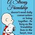 Μία δυνατή φιλία...
