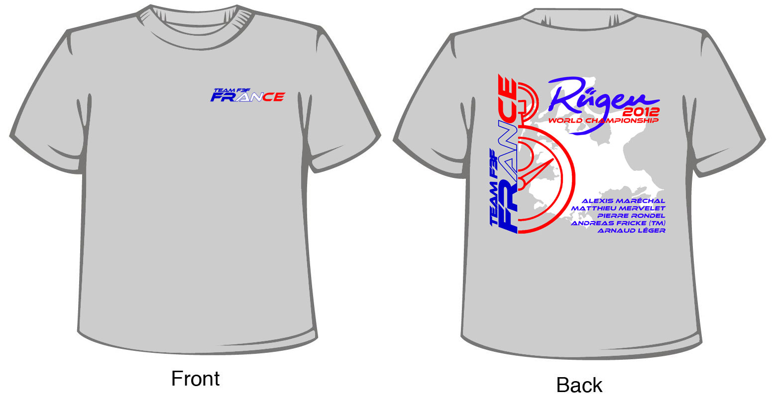 Planet Soaring Team France F3f T Shirt Pre Order Is Now