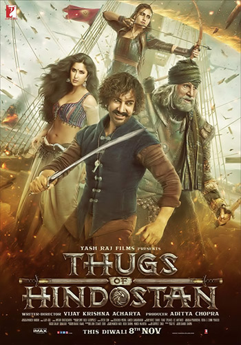 Thugs of Hindostan 2018 x264 720p HDRip