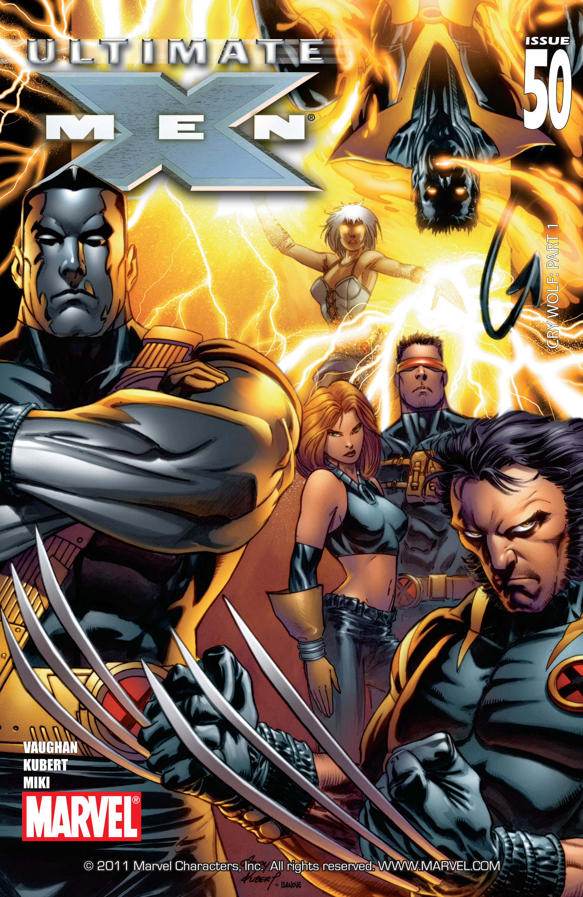 Read online Ultimate X-Men comic -  Issue #50 - 1