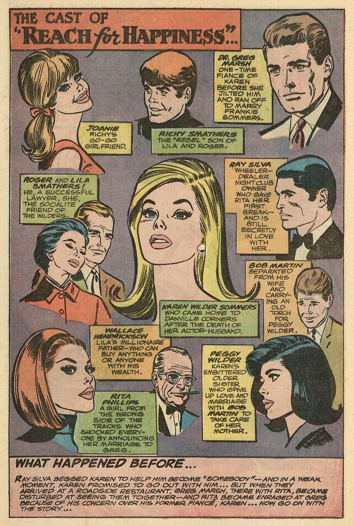Read online Secret Hearts comic -  Issue #125 - 20