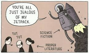 Meme de humor sobre la ciencia ficción