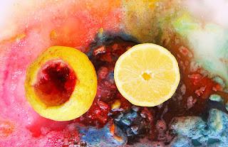 Percobaan Membuat Lemon Volcano
