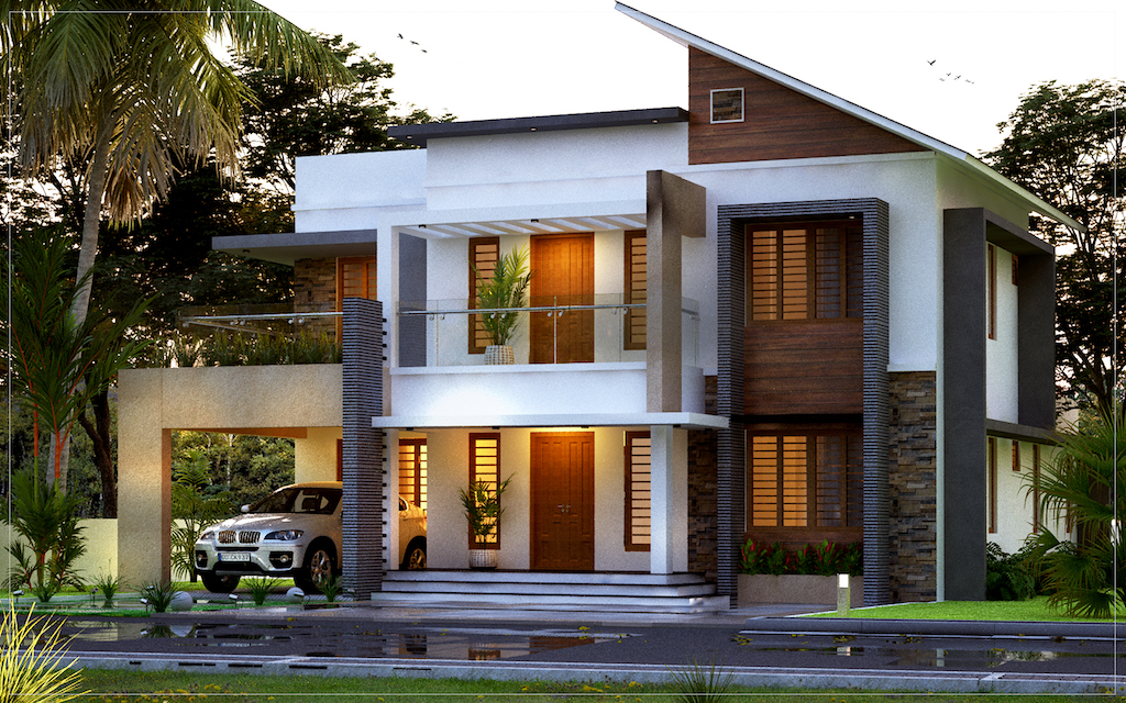 4 BHK 35 lakhs estimated cost FORMS4 COCHIN KOTTAYAM