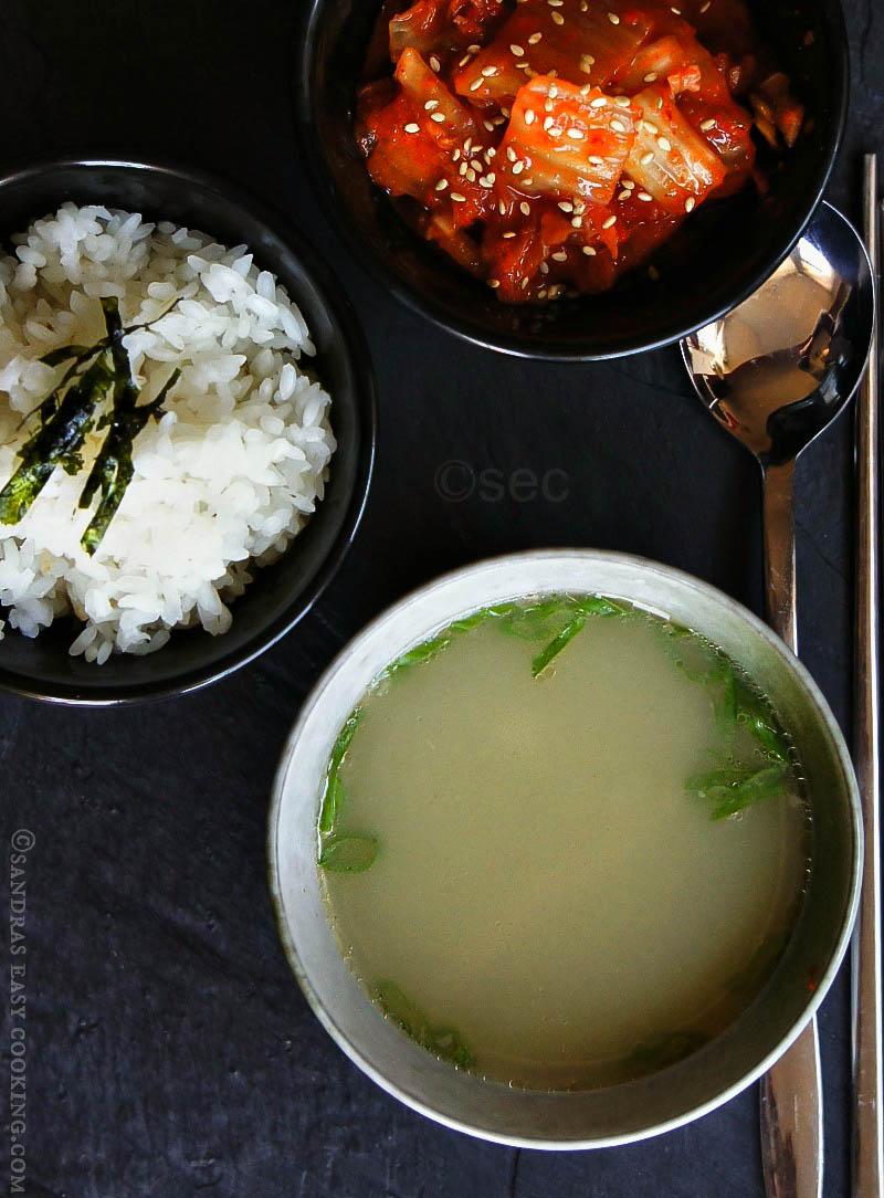 Korean Oxtail Soup/Kkori (kkoli) Gomtang 꼬리곰탕