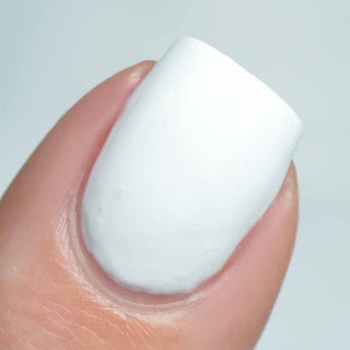 white gel like nail polish