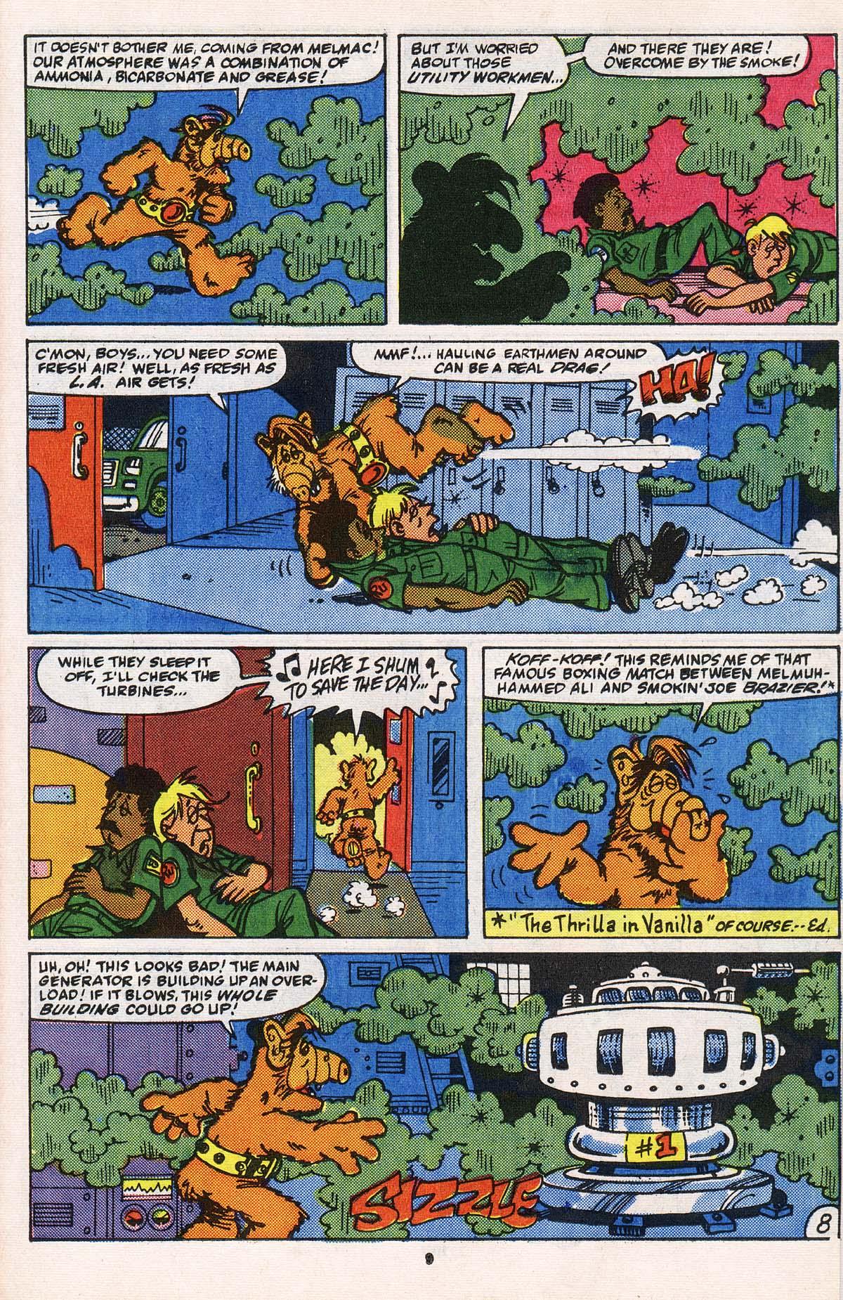 Read online ALF comic -  Issue # _Annual 2 - 9