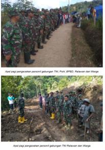 Sebanyak 489 KK / 1610 Jiwa Korban Bencana Tasikmalaya Masih Mengungsi