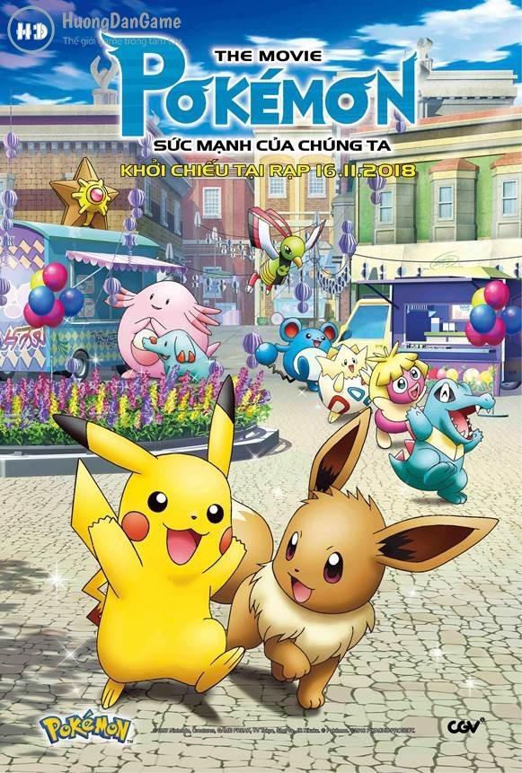 Xem Phim Pokemon Movie 21: Sức Mạnh Của Chúng Ta 2018