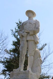 Weiser doughboy statue after cleaning BR Howard