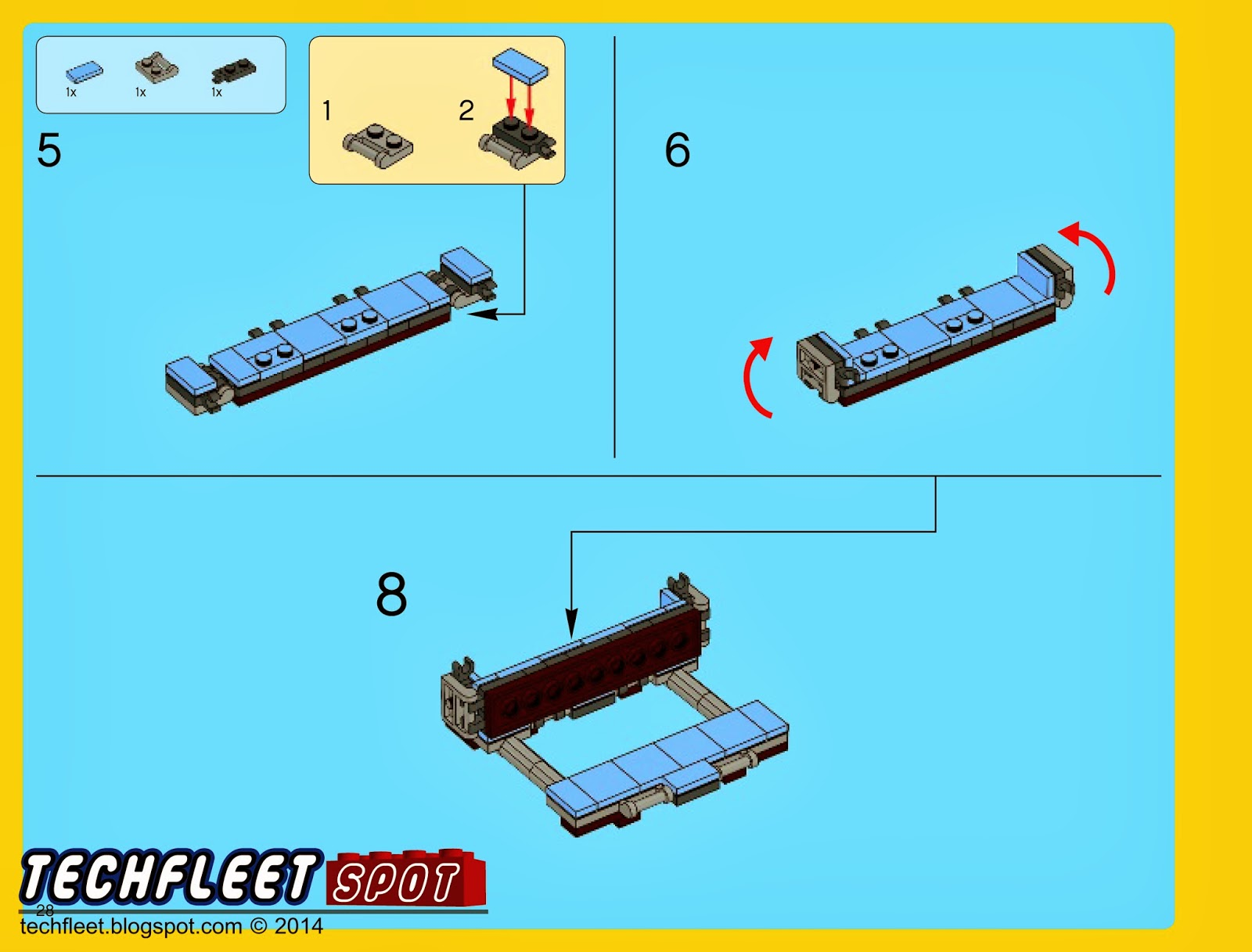 How To Make A Simple Lego Sofa Sofas L Shape Techfleet Spot Emmet S Double Decker Couch Instructions 70810