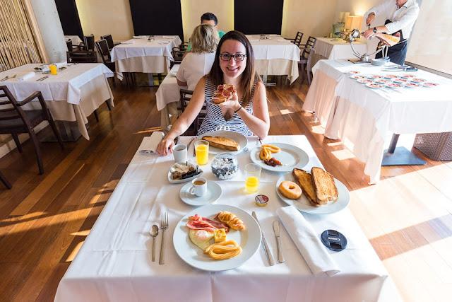 Desayuno del Hotel Convento Aracena