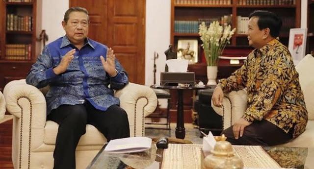 Saran SBY Ke Prabowo, Visi Misi Tak Perlu Panjang Lebar